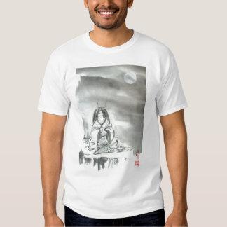 Meditating Oni Sage Mens Unisex T Shirt