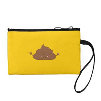 Meditating poo change purse