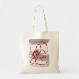 Meditating Shaolin Monk Bag