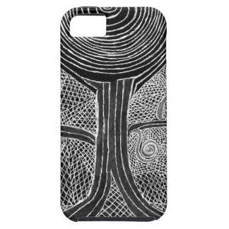 Meditating Tree iPhone 5 Cases