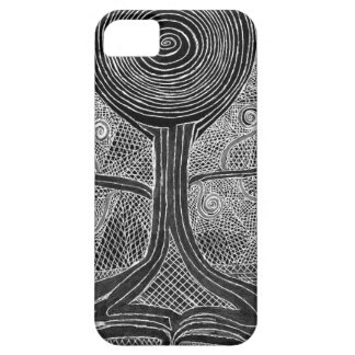 Meditating Tree iPhone 5 Covers