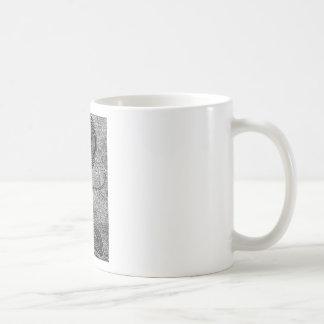 Meditating Tree Classic White Coffee Mug