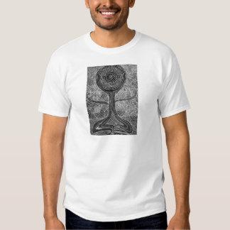 Meditating Tree Tee Shirt