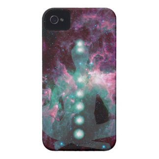 Meditating with the chakras activated. Case-Mate iPhone 4 case