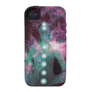 Meditating with the chakras activated. iPhone 4 covers