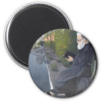 Meditation 2 Inch Round Magnet