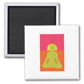 Meditation 2 Inch Square Magnet