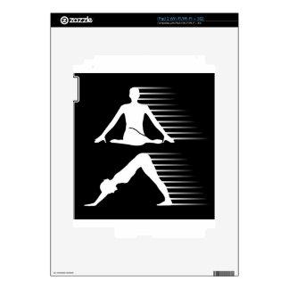 Meditation and yoga energy skins for iPad 2