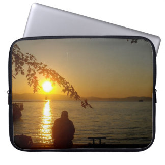 Meditation at Sunset Laptop Computer Sleeves