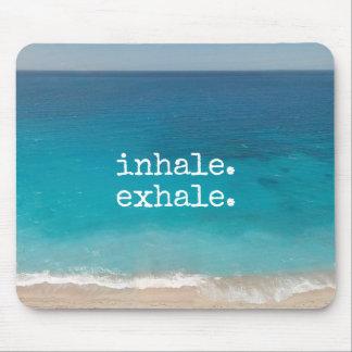 Meditation Beautiful Paradise Beach Mouse Pad