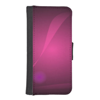 Meditation Black Phone Wallet