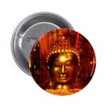 Meditation Buddha  Button