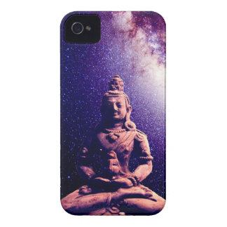 Meditation Buddha Galaxy Space Peace Love Art Case-Mate iPhone 4 Case