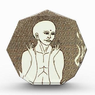 """Meditation"" by E. Lewis Evans Acrylic Award"