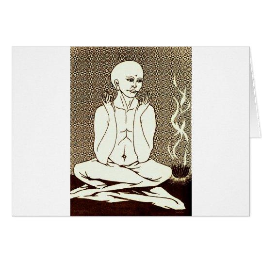 """Meditation"" by E. Lewis Evans Card"
