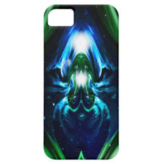 Meditation-Chakras Blue N Green iPhone 5 case
