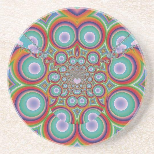 Meditation Drink Coaster