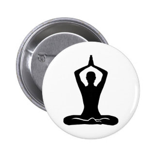 Meditation exercise 2 inch round button