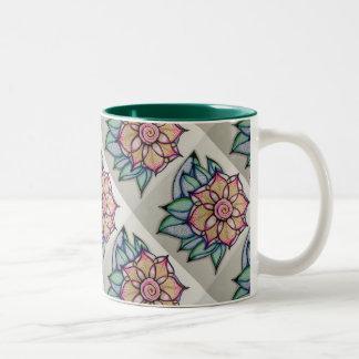 Meditation Flower #1 Mug