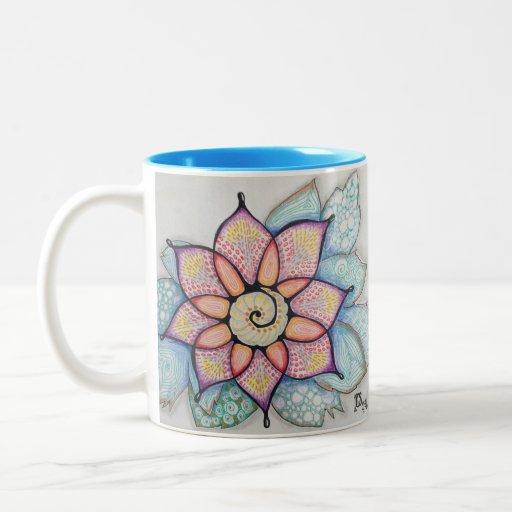 Meditation Flower #3 Mug