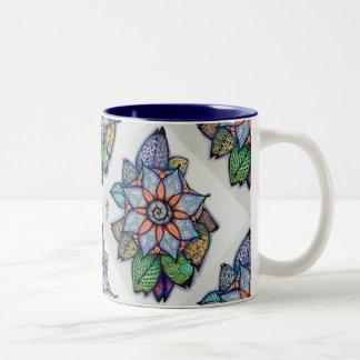 Meditation Flower #4 Mug