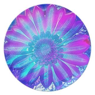 Meditation Flower Dinner Plate