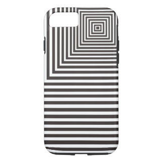 Meditation Focal Point Pattern White and Black iPhone 7 Case