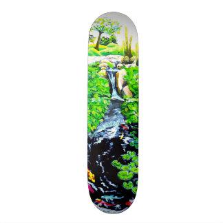 Meditation Garden Skateboard