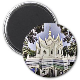 Meditation Hall 2 Inch Round Magnet