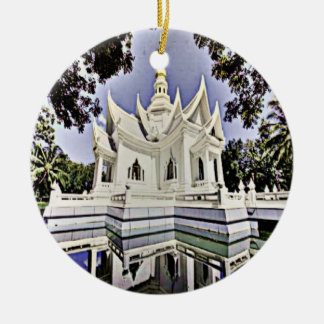 Meditation Hall Ceramic Ornament