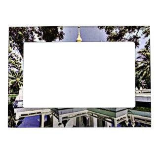 Meditation Hall Magnetic Picture Frame