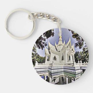 Meditation Hall Single-Sided Round Acrylic Keychain