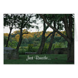 Meditation in the Meadow Greeting Card