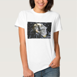 Meditation in The Water  Buddha Face T Shirt