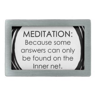 Meditation Inner Net Belt Buckles