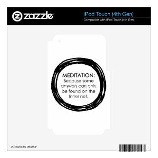 Meditation Inner Net iPod Touch 4G Decals