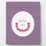 Meditation LADY art made of Pure HEARTS Plaque
