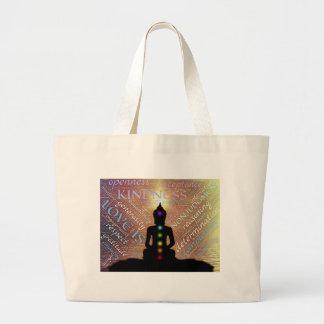 Meditation Large Tote Bag
