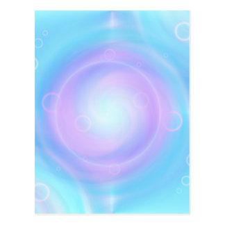 Meditation lightblue created by Tutti Postcard