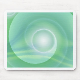 Meditation lightgreen created by Tutti Mouse Pad