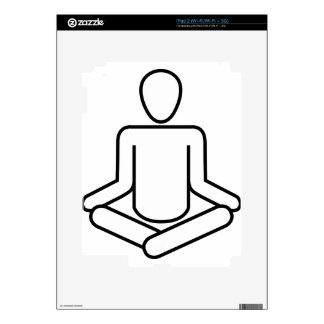 Meditation-logo Skins For The iPad 2