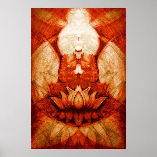 Meditation.Lotus4 Poster