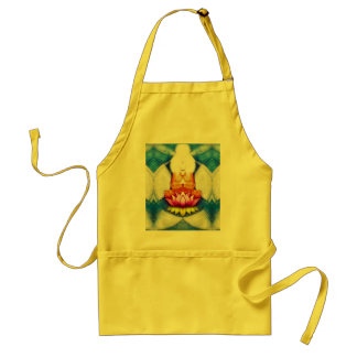 Meditation Lotus Adult Apron