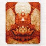 Meditation Lotus Mouse Pad