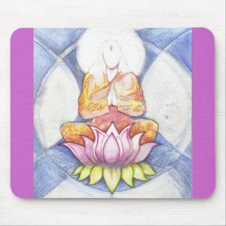 Meditation Lotus Mousepads