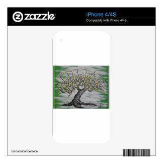 Meditation Love Tree Decals For The iPhone 4S