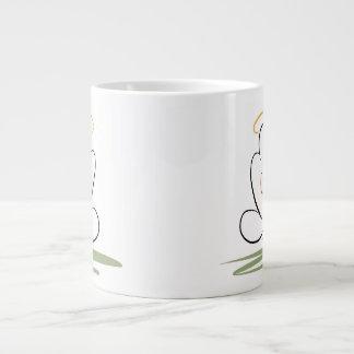 Meditation Man Design 20 oz. Jumbo Mug