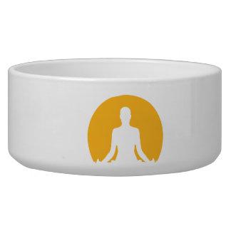 Meditation moon dog bowl