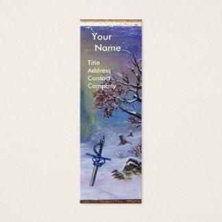 MEDITATION OF A KNIGHT Monogram Mini Business Card