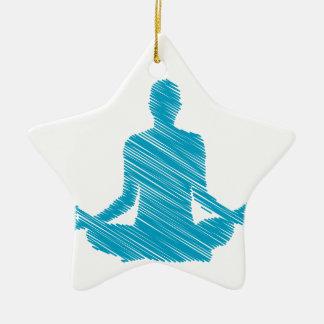 Meditation Christmas Tree Ornaments